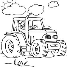 Coloriage Tracteur Dessin Imprimer Sur Coloriages Destin