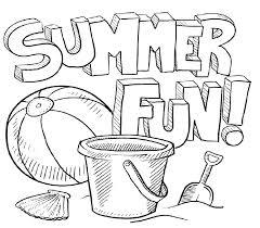 Fun Coloring Sheets Printable Y1868 Summer Coloring Pages Printable ...