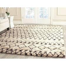 white wool shag rug. Beautiful Rug Safavieh Handmade Casablanca Moroccan White Black N Z Indoor Wool Within Shag  Rug Designs 16 For F