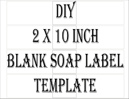 Package Label Template Gorgeous Soap Label Template Printable 488 Files 488 DIY 48 X 48 Blank Etsy