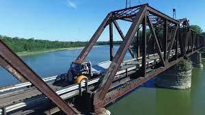 Wabash Cannonball Bridge - St. Francisville, Illinois - Drone Video -  YouTube