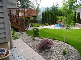 family friendly backyard ideas   Landscape a contemporary Sloping Backyard
