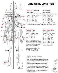 Jin Shin Do Points Chart Energy Medicine