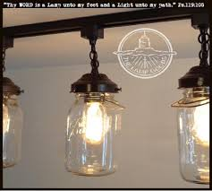 mason jar track lighting. a mason jar track light single vintage quart fixture the lamp lighting