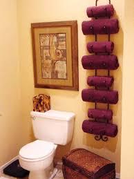 Bathroom Towel Holder Ideas For Bathroom Plus Towel Ideas For