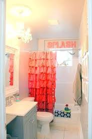 exciting salmon shower curtain salmon colored shower curtain salmon pink shower curtain