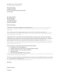 Resume How To Write A Job Interest Letter With Sample Letters For