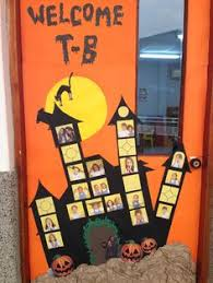 classroom door decorations for halloween. Halloween Classroom Door Mansion Of Terror With Our Pictures Scary Decorations For