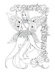 Mythical Coloring Pages Drawn Fairy Dragon 2 Mythical Creatures