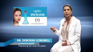 Sapphire Blue Light Therapy Zero Gravity Dermatologist View Sapphire Blue Light Youtube
