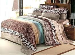 leopard print bedding animal print bedding set all king size leopard bedding sets on