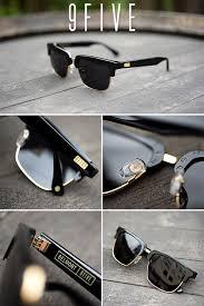 9FIVE <b>Belmont</b> Black & 24K Gold <b>Sunglasses</b> in 2019 | Gold ...