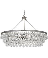 bling 6 light crystal chandelier