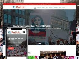 Political Website Templates Campaign Website Template