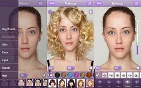 once you get past the extended name perfect365 is actually a pretty cool app for photo touch ups you can give yourself a digital makeover using the app
