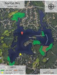 Neponset Reservoir Depth Chart Massachusetts Bass Fishing Spots Neponset Reservoir