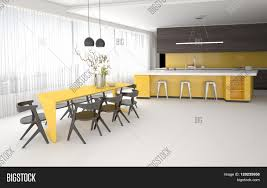 Yellow And Grey Kitchen Luxury Elegant Yellow And Grey Kitchen And Dining Room Interior