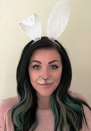 bunny ears costume bunny makeup