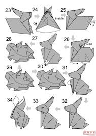 easy rabbit origami origami wolf origami lion origami rabbit    easy rabbit origami origami wolf origami lion origami rabbit diagram