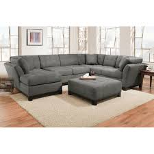 gray sectional sofas. Exellent Gray Manhattan Sectional  Sofa Loveseat U0026 LSF Chaise Slate  MANHTTNLSF3PCSLTDFT To Gray Sofas F