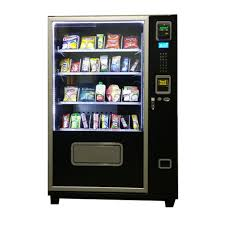 Refrigerated Vending Machine Custom ITEM APS48 REFRIGERATED SNACK VENDORS 48SELECTIONS Avanti Vending