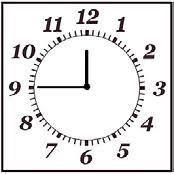 Комплексная интегрированная контрольная работа для класса  Задание 4 3 Предположи где может находиться минутная стрелка если маленькие колокола звонили 3