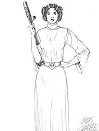 Small Picture star wars princess leia coloring pages Princess Leia coloring
