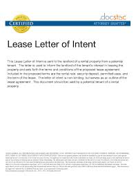 House Rental Agreement Letter New 20 Fresh Letter Intent Template