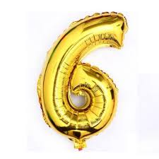 40 giant 6 six gold mylar number letter balloons birthday big balloon party wedding centerpieces table decoration events 0 0 width=720&height=960