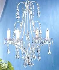 chandeliers candle non electric crystal chandelier image antique and ceiling rod iron holders with lift eliers elier outdoor