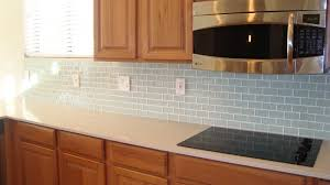 Kitchen Backsplash Diy Great Our Diy Brick Backsplash Using Vinyl Floor Tiles Cut Into