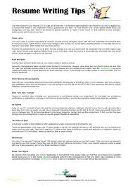 Non Technical Resume Format Or Resume Writing Tips Resume Career
