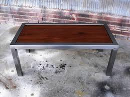 Hastings Reclaimed Wood Coffee Table Elegant Narrow Reclaimed Wood Coffee Table For Wood Table