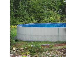 24 round radiant metric series insulated wall above ground pool rad poo 24rm by patio com