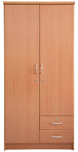 aft wooden 2 door lock cabinet brown w90cm x h190cm x d55cm souq uae