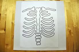 diy skeleton baby