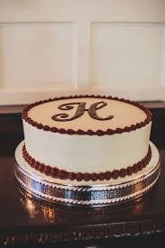 Simple Grooms Cake At Green Pastures