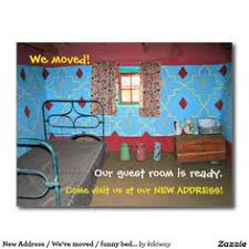 Postcard How To Address 117 Best Change Of Address Postcards Images Address Change Change