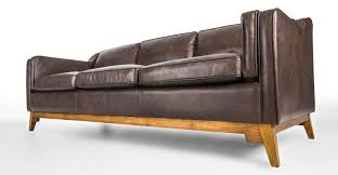 Worthington Oxford Brown Sofa Best Leather Sofa Sofa