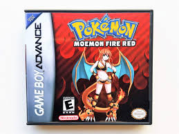 Mua Pokemon Moemon Fire Red (with Case, Cover Art, and Game) Gameboy  Advance GBA Game Boy trên Amazon Mỹ chính hãng 2021