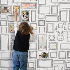 frames wallpaper  peel and stick