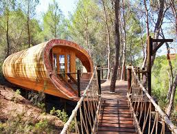 Curvaceous Fibonacci Tree House is a Lofty Eco Retreat for Kids