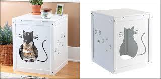 litter box hidden. 10 Ideas For Hiding Your Cats Litter Box // With A Kitty Cut-out Hidden