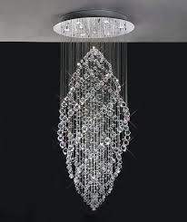 sheer shade crystal ball chandelier amazing pendant