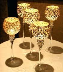 mercury glass hurricane candle holders pillar candle holders bulk gold get to be used for wedding