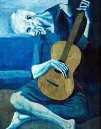 pablo picasso s ldquo the old guitarist rdquo the waterhole pablo picasso s ldquothe old guitaristrdquo
