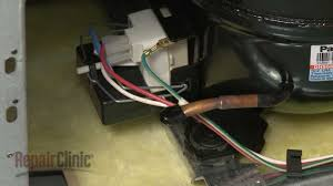whirlpool refrigerator run capacitor replacement 65889 4 youtube Fridge Relay Wiring Fridge Relay Wiring #76 fridge relay wiring