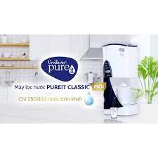 Máy lọc nước Unilever Pureit Classic 9 lít tặng ly sứ