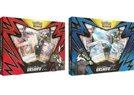 2021 Pokemon TCG Single Strike/Rapid Strike Urshifu V Box Bundle - 2021