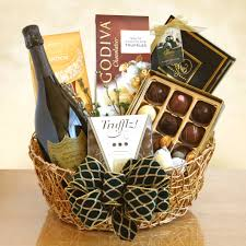 ultimate dom perignon chagne and truffles gift basket